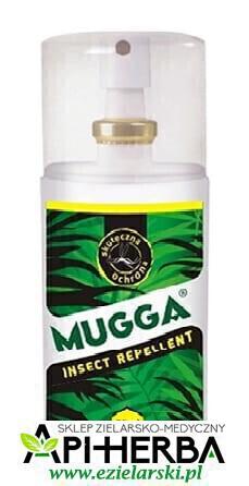 Mugga Spray DEET 9,5% na komary i kleszcze 75ml dla dzieci od 2 roku. (1)