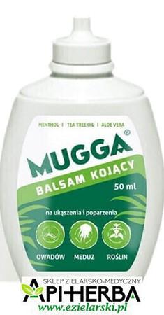 Mugga Balsam kojący po ukąszeniu 50ml. Po 2 roku życia. (1)