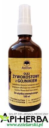 Olej Żywokostowy z Gojnikiem 100ml. Astron (1)