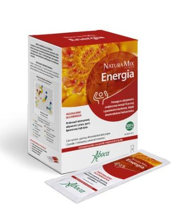 Natura Mix Advanced Energia Saszetki Rozpuszczalne 20szt. Aboca (1)
