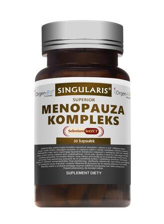 MENOPAUZA KOMPLEKS SUPERIOR 30 kapsułek SINGULARIS® (1)