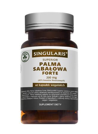 PALMA SABAŁOWA FORTE SUPERIOR – 60 kapsułek wegańskich SINGULARIS