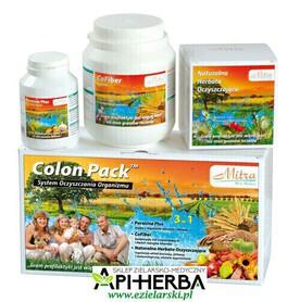 Colon Pack 3 w 1, System Oczyszczania Organizmu. Mitra