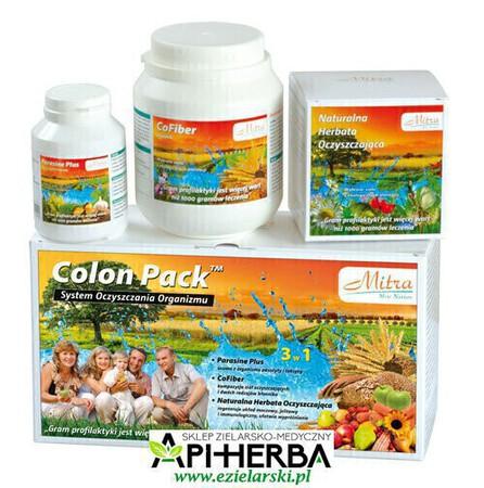 Colon Pack 3 w 1, System Oczyszczania Organizmu. Mitra (1)