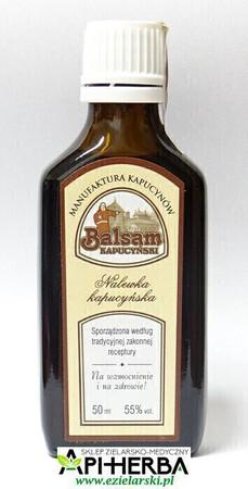 Balsam Kapucyński - Nalewka Kapucyńska 50ml z kroplomierzem (1)